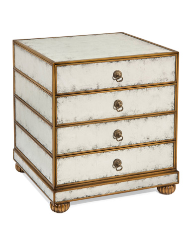 John Richard Collection - Sultana Four Drawer End Table - EUR-03-0549