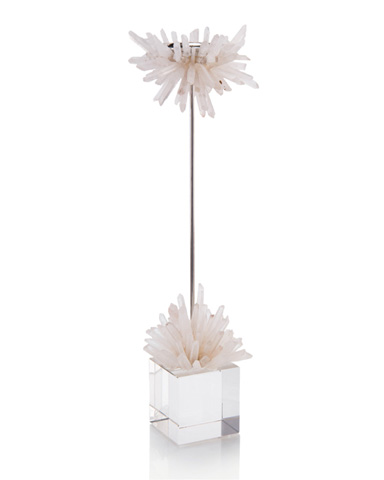 John Richard Collection - Quartz Starburst Candleholder - JRA-10095
