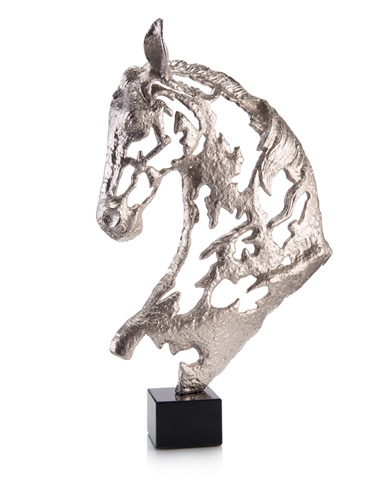 John Richard Collection - Nickel Horse's Head - JRA-10114
