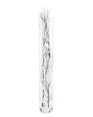 John Richard Collection - Black Bamboo Orchids - JRB-3580W