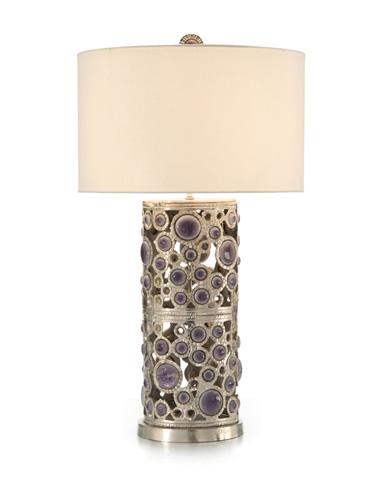 John Richard Collection - Glass Cabochon Table Lamp - JRL-9272
