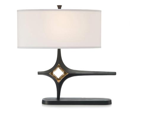 John Richard Collection - Brass Plated Table Lamp - JRL-9282