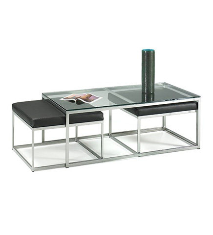 Johnston Casuals - Modulus Cocktail Table - 24-158