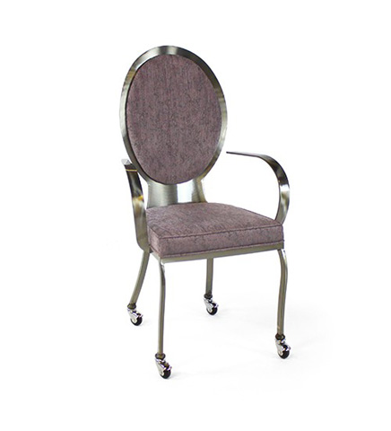 Johnston Casuals - Studio II Arm Chair with Casters - 3905