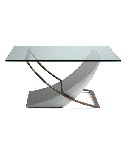 Johnston Casuals - Crescent Square Cocktail Table - 58-155