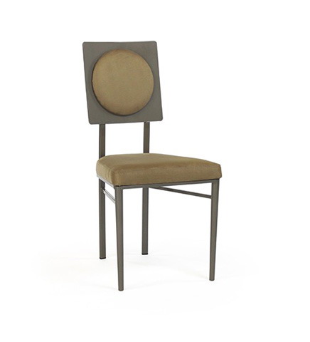 Johnston Casuals - Corona Chair with Upholstered Back - 5512