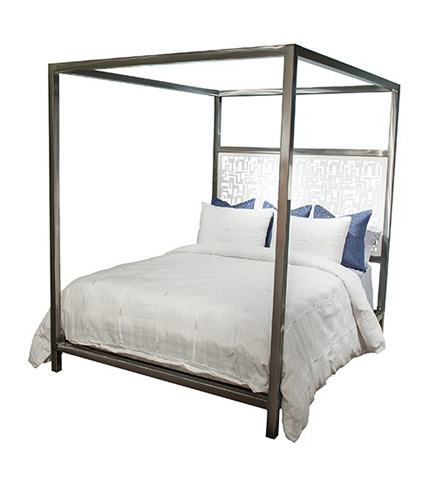 Johnston Casuals - Luxor King Canopy Bed - LUX-398