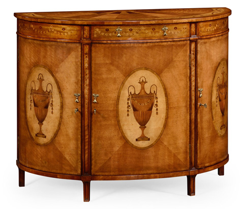 Jonathan Charles - Demilune Cabinet - 492253