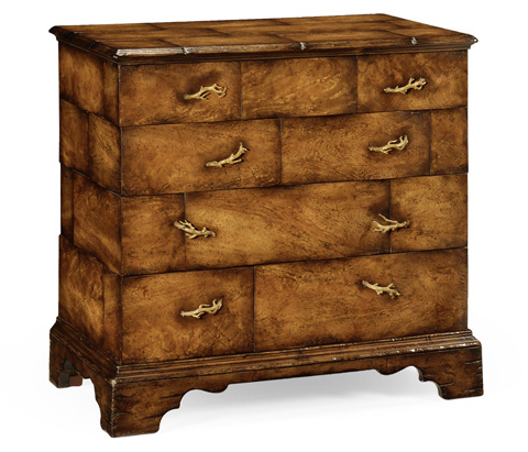 Jonathan Charles - Rustic Chest of 4 Drawers - 493407