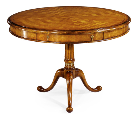 Jonathan Charles - Parquetry Walnut Centre Table - 492086
