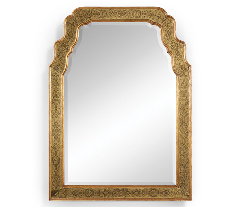Jonathan Charles - Eglomise Framed and Gilded Mirror - 492208