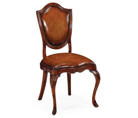 Jonathan Charles - Shield Back Mahogany Side Chair - 492766
