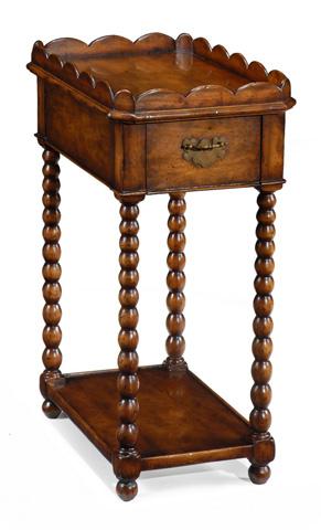 Jonathan Charles - Queen Anne Rectangular Lamp Table - 493043