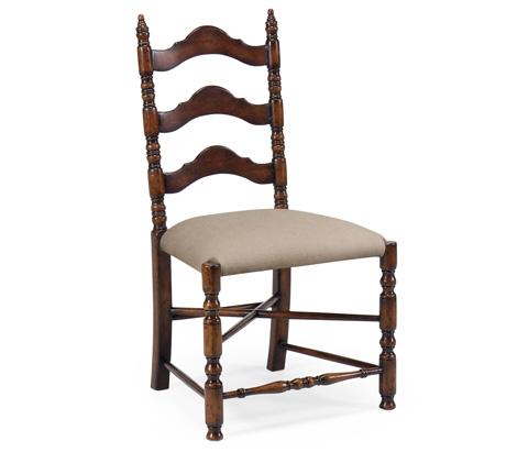 Jonathan Charles - Oak Ladder Back Country Chair - 493274