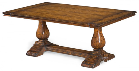 Jonathan Charles - Refectory Style Coffee Table - 493376