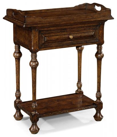 Jonathan Charles - Elizabethan Style Dark Oak Tray Table - 493551