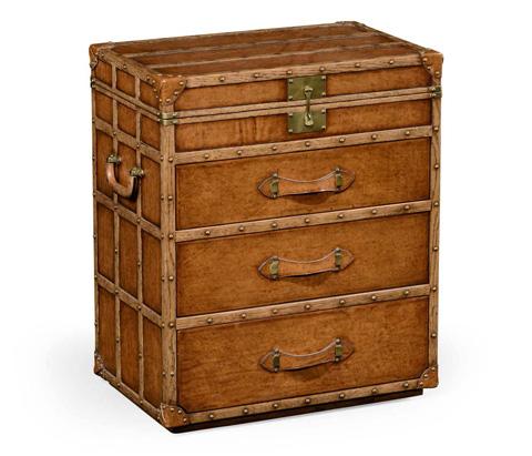 Jonathan Charles - Steamer Trunk Jewellery Box - 494474