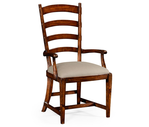 Jonathan Charles - French Ladderback Style Carver Chair - 494773
