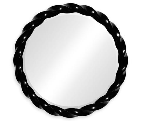 Jonathan Charles - Black Twisted Mirror - 495076