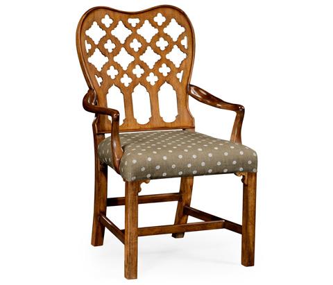 Jonathan Charles - Kingsley Arm Chair - 530082-AC