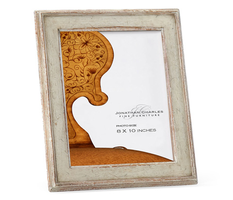 Jonathan Charles - Painted Rub-Through Picture Frame - 493307