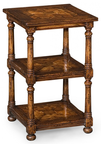 Jonathan Charles - Oyster Three-Tier Etagere - 493428