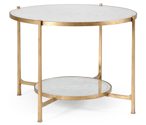 Jonathan Charles - Transitional Gilded Centre Table - 494104-G