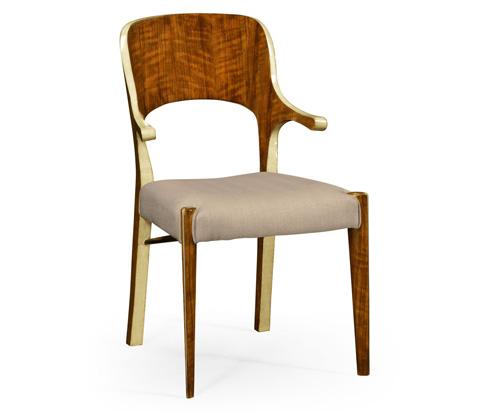Jonathan Charles - Hyedua and Celadon Finish Arm Chair - 494906-CO2
