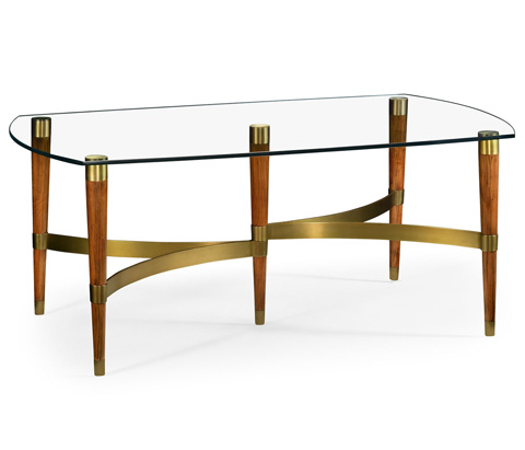 Jonathan Charles - Hyedua Wood Coffee Table - 495313