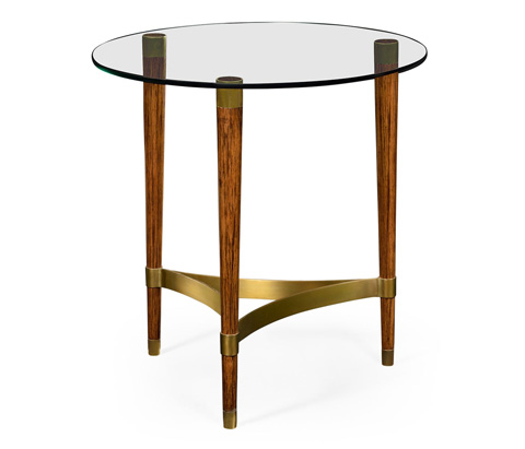 Jonathan Charles - Hyedua Wood Lamp Table - 495316