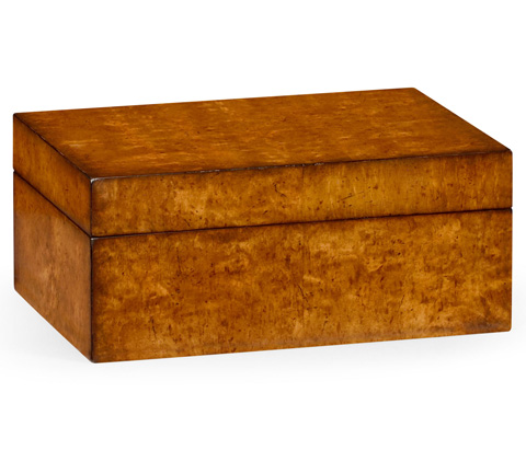 Jonathan Charles - Masur Birch Rectangular Box - 492890