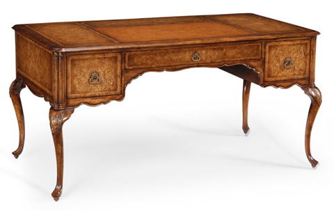 Jonathan Charles - Seaweed Marquetry Desk - 493098