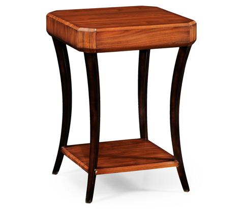 Jonathan Charles - Art Deco Square Side Table - 494088-SAH