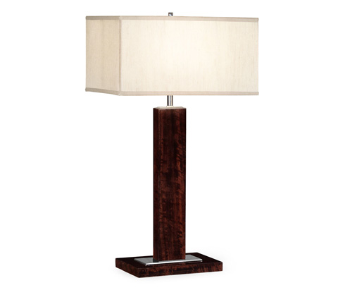 Jonathan Charles - Rectangular Table Lamp - 495450-BEC