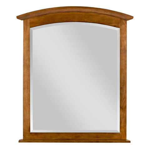 Kincaid Furniture - Arch Mirror in Honey - 44-1810
