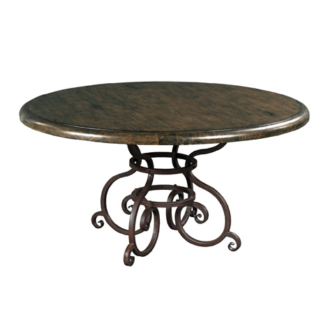 Kincaid Furniture - Round Dining Table in Black Forest - 90-2179
