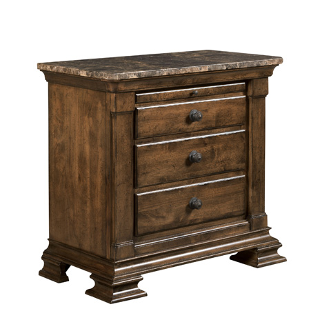 Kincaid Furniture - Bachelor's Chest with Marble Top - 95-142M