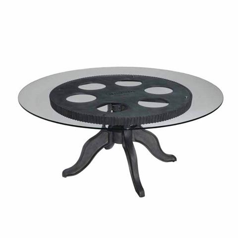 Kincaid Furniture - Gear Cocktail Table - 37-027B/37-027T