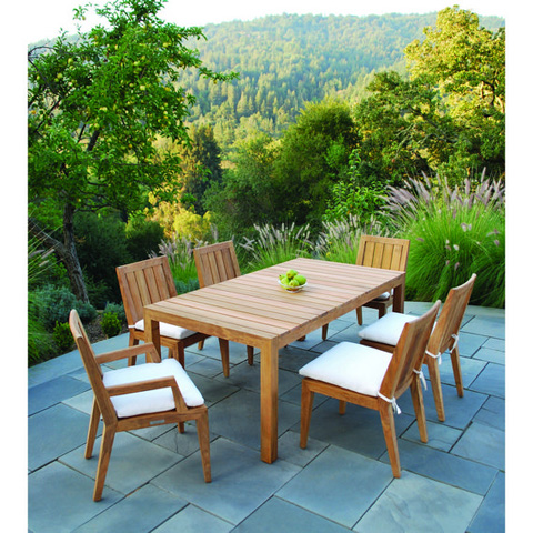 Kingsley-Bate - Mendocina Rectangular Dining Table - MC72