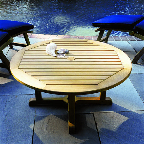 Kingsley-Bate - Essex Round Coffee Table - TR01