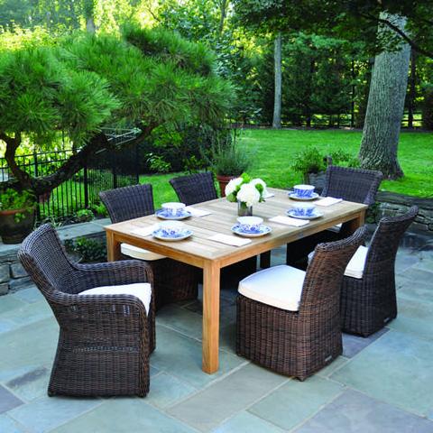 Kingsley-Bate - Wainscott Rectangular Dining Table - WS72