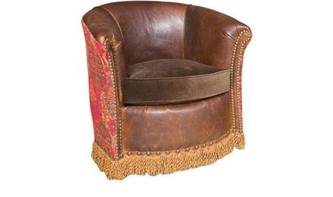 King Hickory - Wonder Upholstered Swivel Chair - 0131-SLF