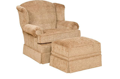 King Hickory - Taylor Fabric Chair - 2001