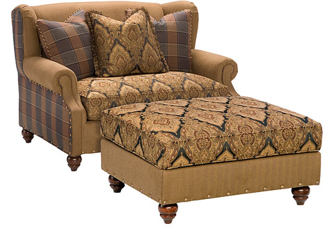 King Hickory - Lucy Settee - 5250