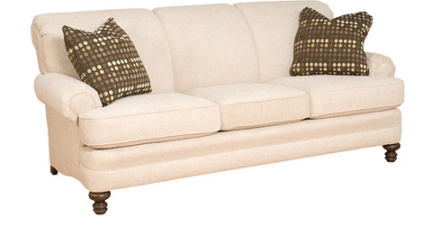 King Hickory - Amanda Fabric Sofa - 5650