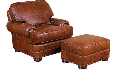 King Hickory - Edward Leather Chair - 58101-L