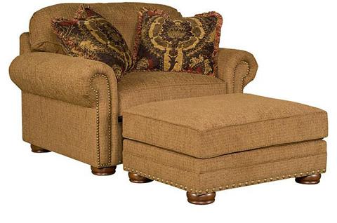 King Hickory - Ricardo Fabric Chair & 1/2 - 9901
