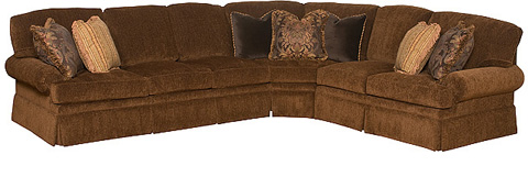 King Hickory - Lincoln Park Upholstered Sectional - LINCOLN PARK SECTIONAL 2