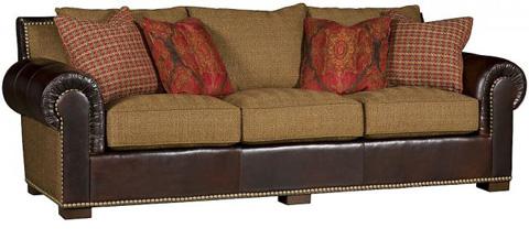 King Hickory - Arthur Leather Fabric Sofa - 1500-LF