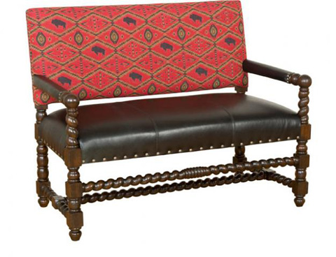 King Hickory - Montes Settee - W16-20-LF